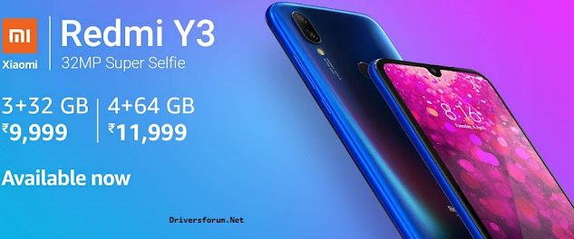Xiaomi Redmi Y3 USB Driver