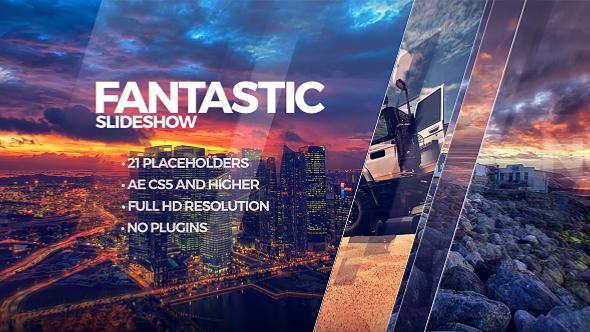 VideoHive Fantastic Slideshow Adobe After Effects Templates - Adobe after effects slideshow templates