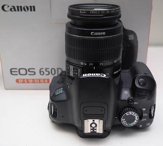 Jual Canon Eos 650D Bekas