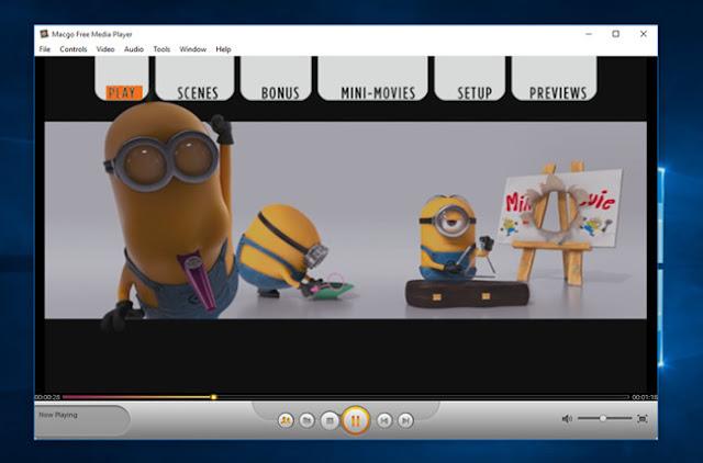 افضل برنامج تشغيل الفيديو بدقة 4K للكمبيوتر مجانا