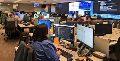 Logistics staff in the State EOC