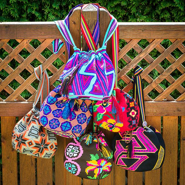 Mama Tierra, Wayuu bags, Craftmanship