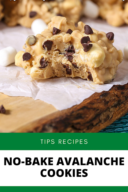 ✓ NO-BAKE AVALANCHE COOKIES