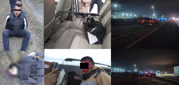 Fotos; Enfrentamiento entre Policías y Sicarios del CJNG deja a dos Gatilleros muertos y dos heridos en Apaseo el Grande, Guanajuato
