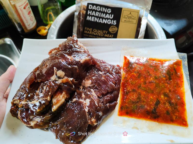 Sedapnya Daging Harimau Menangis Hany Thai Kitchen Ni!