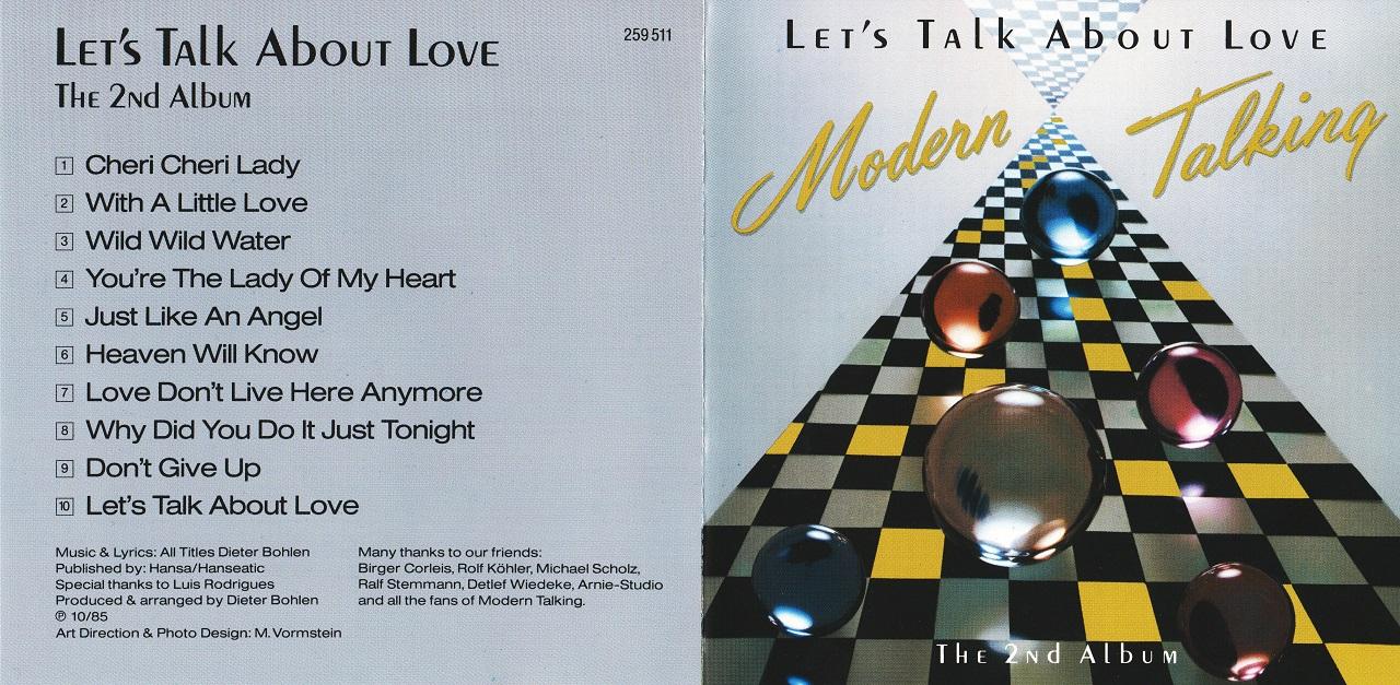 2nd Album Lets Talk About Love