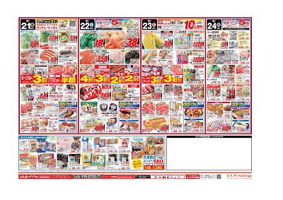 【PR】フードスクエア/越谷ツインシティ店のチラシ6月21日号