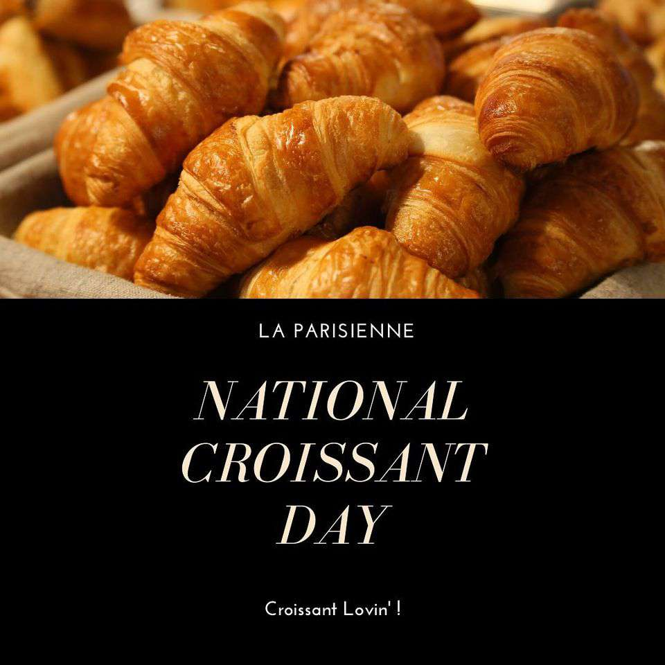 National Croissant Day Wishes Pics
