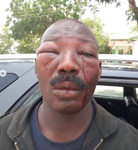 Residents beat the hell out of a Police officer (Video)