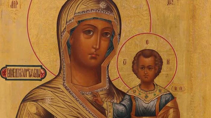 Молитва пред иконой Божьей Матери, о счастье, исцелении и достатке