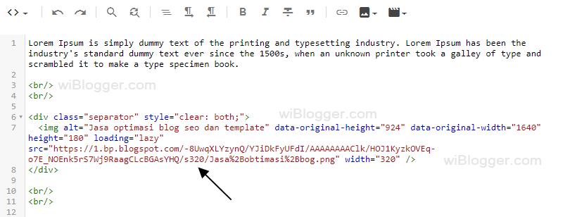 Thumbnail widget blog tidak tampil