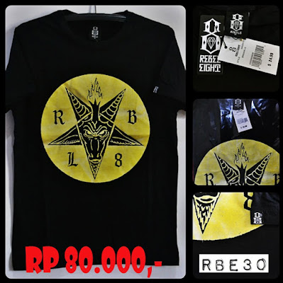 Kaos Distro Surfing Skate REBEL EIGHT Premium Kode RBE30