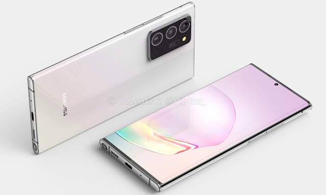 First Samsung Galaxy Note20+ renders arrive.