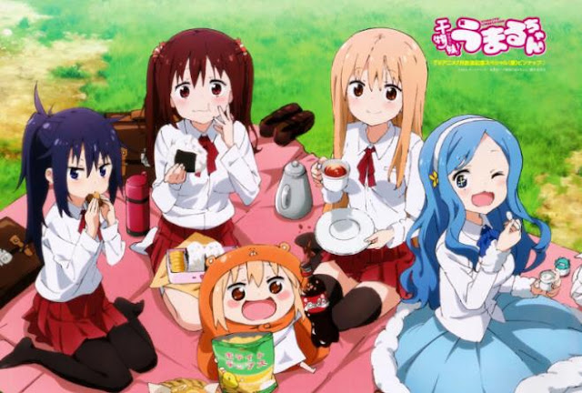 Top Best School Comedy Anime List - Himouto! Umaru-chan