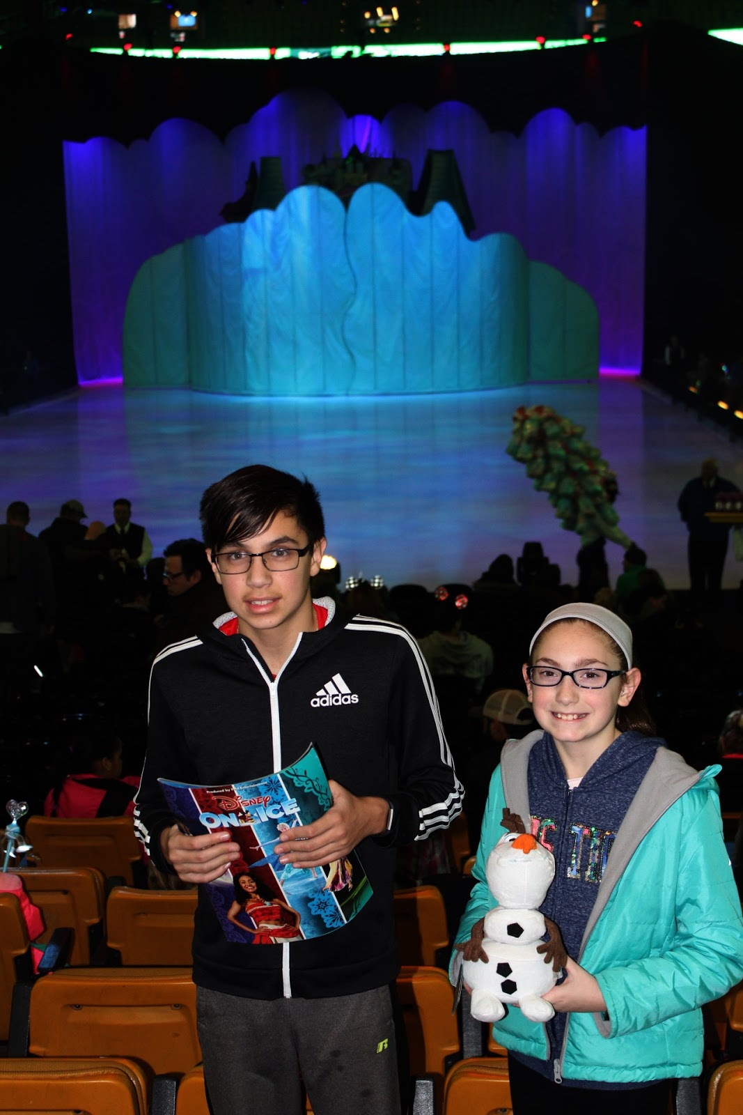 I Have Now Continued This Tradition With My Kids. We Went To See Disney On  Ice Dare To Dream At The TD Garden The Other Night And Loved It!
