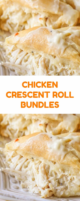 Chicken Crescent Roll Bundles