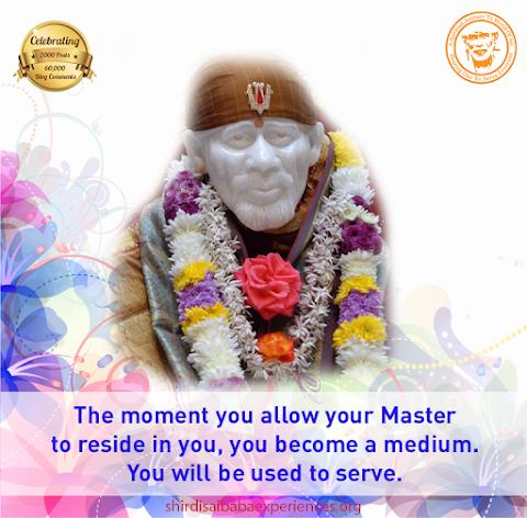 Master - Sai Baba Idol Image