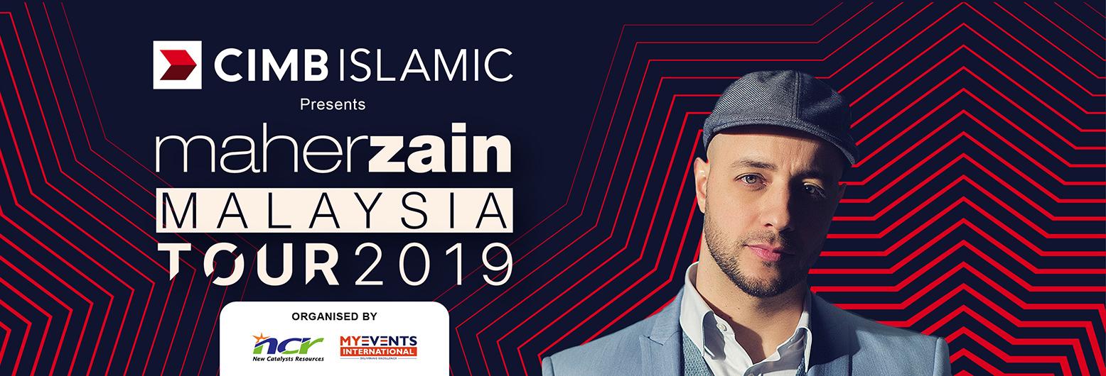 Dapatkan Tiket Konsert 'Maher Zain Malaysia Tour 2019