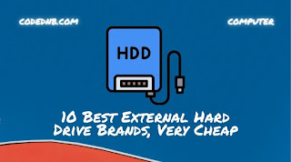 10 Best External Hard Drive Brands 2021, cheap and data security