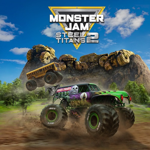 Monster Jam Steel Titans 2 Xbox One, PC & Switch Covers
