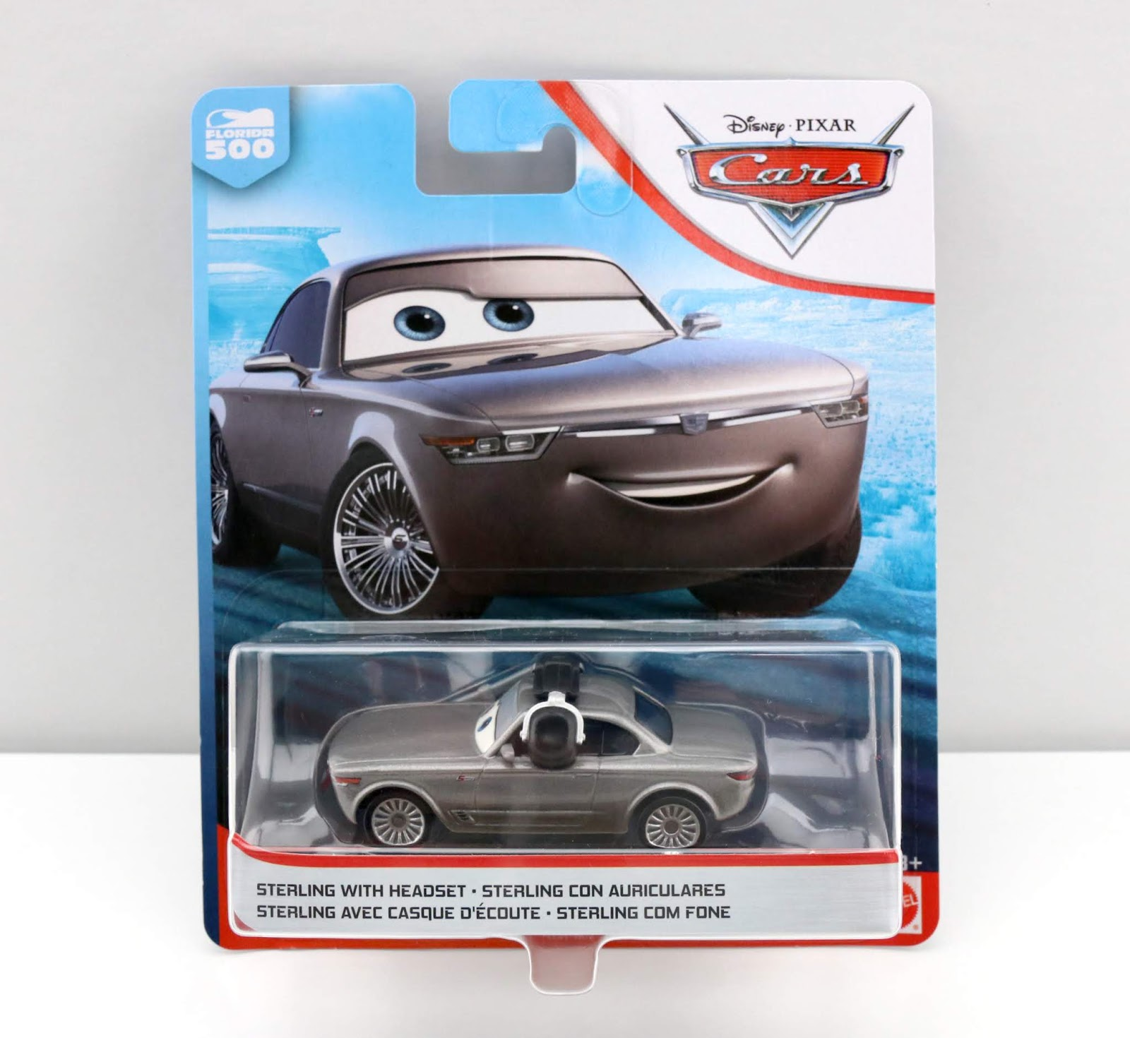 Cars 3 sterling with Headset diecast review