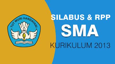 Silabus dan RPP SMA Kurikulum 2013 Revisi 2018 Semua Mapel Format Pdf