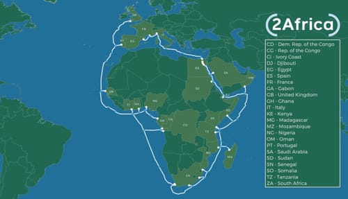 Facebook is building submarine cables for the Middle East and Africa