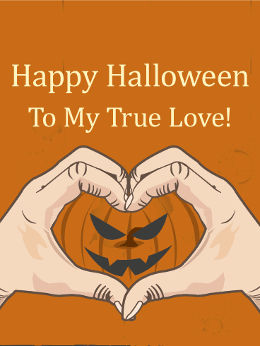 Romantic Halloween Wishes