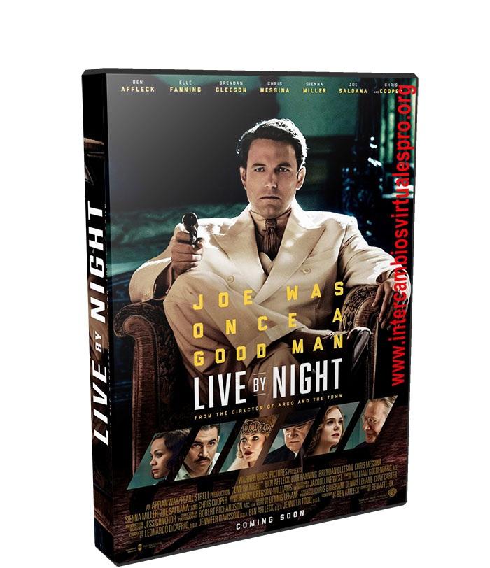 Vivir de noche poster box cover