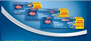Compra gratis las bolsas Ultra-Zip de Albal