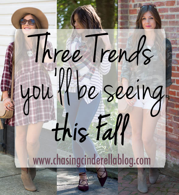 3 Trends You'll Be Seeing A Lot Of This Fall | Chasing Cinderella