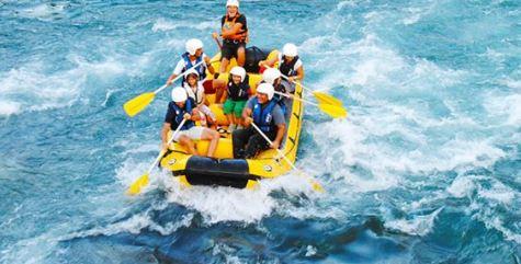Wisata Rafting Sungai Telaga Waja Karangasem Bali