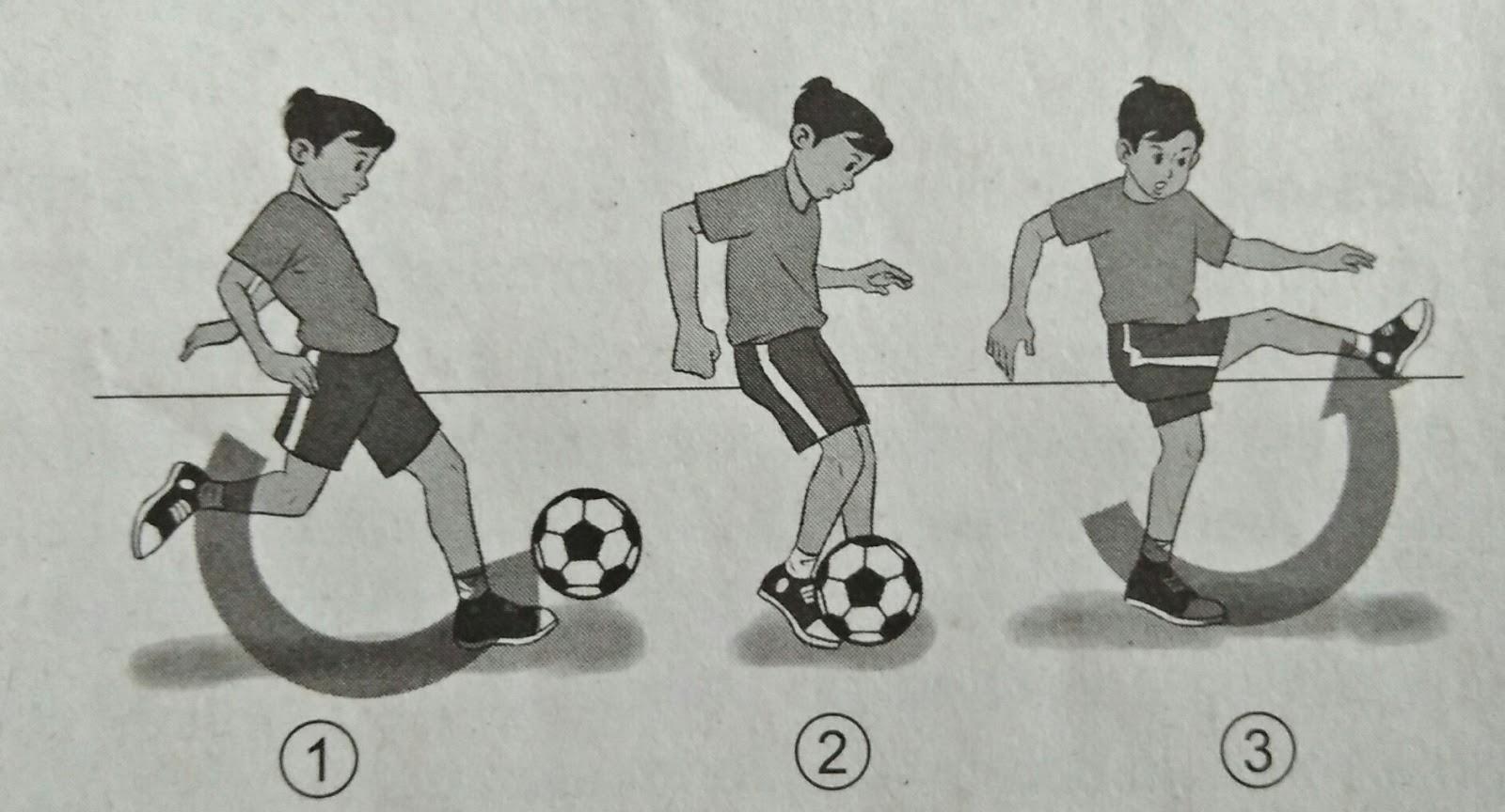 Kombinasi Gerak Dasar Lokomotor Nonlokomotor Dan Manipulatif Dalam Permainan Bola Besar Penjaskes
