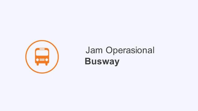 jam operasional busway