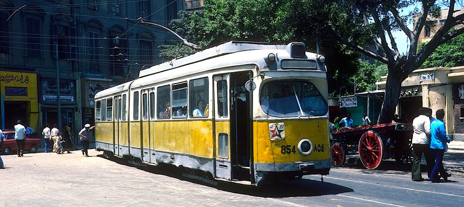 Трамвайная сеть Александрии
