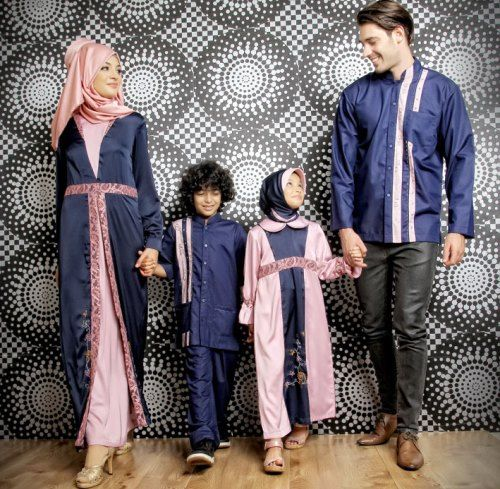 Model Baju Lebaran Couple 2018