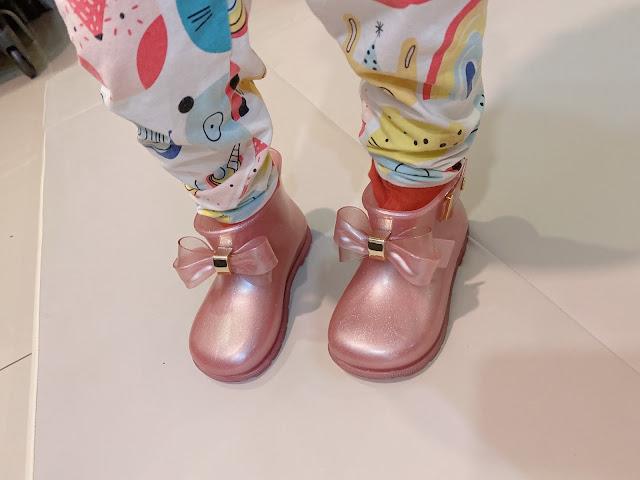 melissa pink boots children