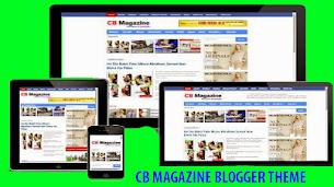 CBMagazine Responsive Blogger Theme  - Responsive Blogger Template