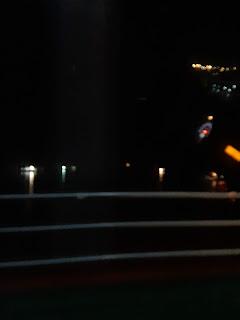 jalan gelap tanpa lampu menuju kota marabahan
