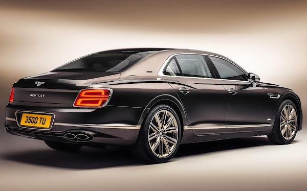 Bentley Flying Spur Hybrid ganha versão Odyssean Edition