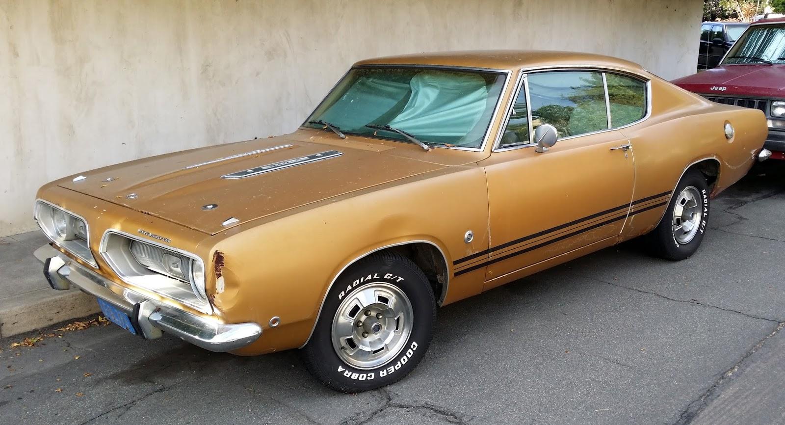 Just A Car Guy: original owner 1968 Barracuda 340-S on a forgottten ...