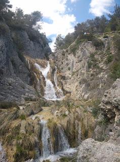Cascada en El Racó de Sant Bonaventura