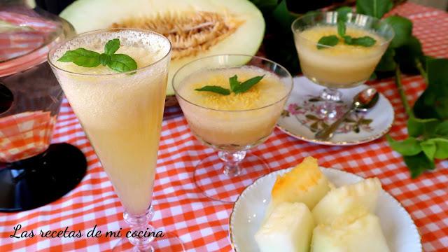 Mousse de melón
