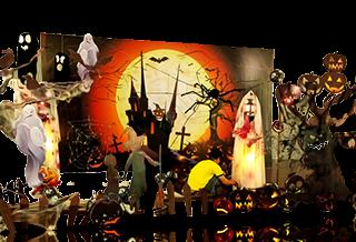 Trang trí Halloween tại Nha Trang