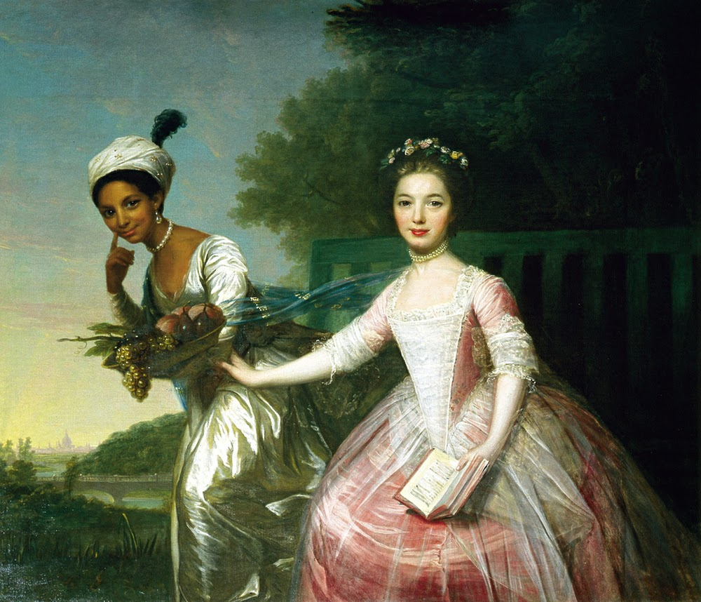 Portrait of Dido Belle and her cousin, Lady Elizabeth Murray