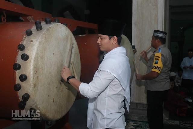 Gus Ipin Buka Gema Takbir Akbar Sambut Datangnya Idul Fitri 1440 H