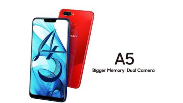 OPPO A5 (64GB) with AI-fueled cameras launched in India at Rs. 12,990