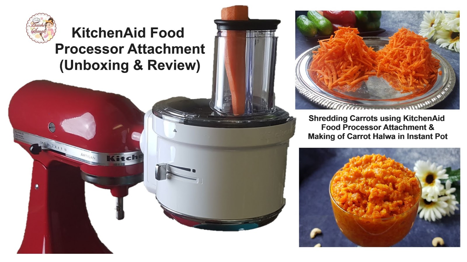 Unboxing and Review of the KitchenAid Food Processor ...