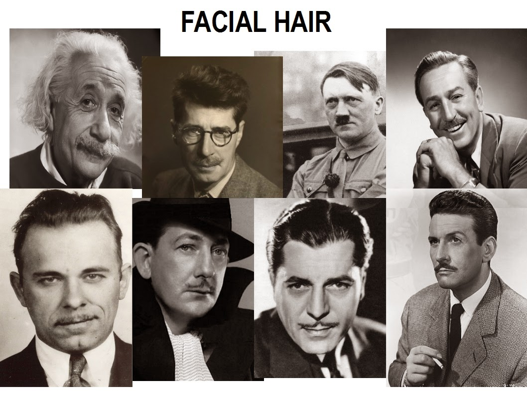 Think, that mens facial hair styles 1930 s and 1940 s are not