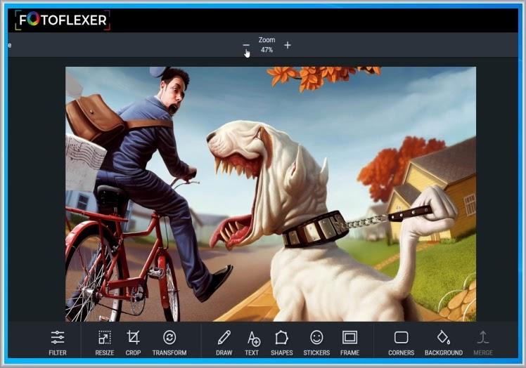 FotoFlexer :  Η απλούστερη  διαδικτυακή εφαρμογή επεξεργασίας εικόνας
